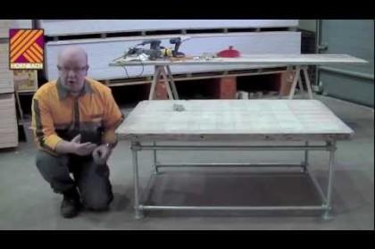 Zelf een salontafel maken