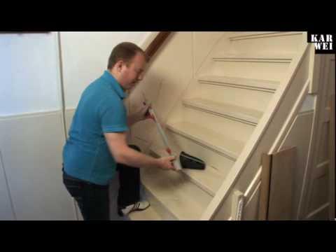 Zelf een trap renoveren - Te vernieuwen zijn houten trap ...